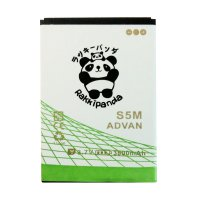 BATTERY BATERAI DOUBLE POWER DOUBLE IC RAKKIPANDA ADVAN S5M 3800mAh