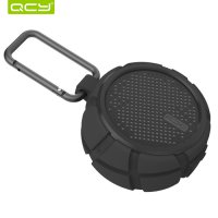 QCY BOX2 OUTDOOR BLUETOOTH SPEAKER IPX7 WATERPROOF - HITAM
