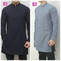 Baju Koko Semi India All Motif Bebas Pilih