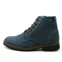Korean trendy casual comfort men boots shoes, so both big [4.5 cm] trailer insaideuji 1709732 ankle