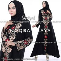 Exclusive Abaya Gamis Dress Arab Bordir Turkey Shafiyah