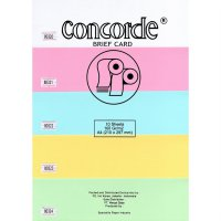 Kertas Concorde (Brief Card) 160 Gr A4 (80323) -Yellow (Pak 10 Lembar)