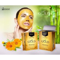 Hanasui Gold Peel Off Mask BPOM Original - Naturgo Gold