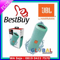 Speaker Multimedia JBL Flip 3 Speakerphone, Anti-percikan air, JBL Bass Radiator - Teal