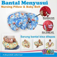 Bantal Menyusui Dita / Nursing Pillow + Baby Belt Dita