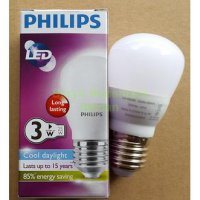 Lampu Led Philips 3w - Warna Cahaya Putih - Full Garansi 2th