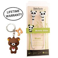 [macyskorea] DIYJewelryDepot Cute Panda Bear Earphones Mobile Phone In-Ear Headset with Mi/18580728