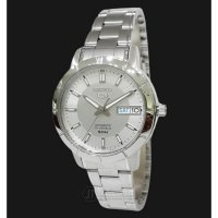 DISKON seiko-5-snk899k1-automatic-21-jewels-silver-dial-stainless-steel-brace