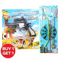 [Buy 1 Get 1] Magnum Gun & Panahan OCT8102 Mainan Anak Ocean Toy