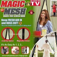 Tirai Magnet Anti Nyamuk / Magic Mesh As See On Tv