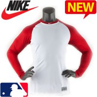 Nike Baseball Long Sleeve Tee / MLB Limited Pro Com bat core fit innerwear / NB-429606_103