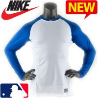Nike Baseball Long Sleeve Tee / MLB Limited Pro Com bat core fit innerwear / NB-429606_102