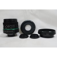 Lensa 25mm f/1.8 APS-C CCTV GREEN RING C - Mount Lens - Adapter Hood