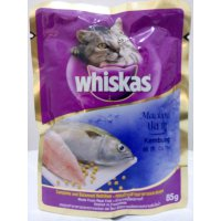 Whiskas Mackerel 85 gr (Wet Food)