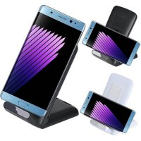 3-Coils Qi Wireless Charger Stand Dock for Samsung Galaxy NOTE 7