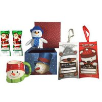 [poledit] Mixed Snowman Mug and Snowman Plush with Hot Chocolate and Milk Chocolate Covere/14703519