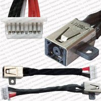 [globalbuy] Laptop DC Power Jack Socket cable Connector for Dell Inspiron 11 3000 3148 15-/5533666