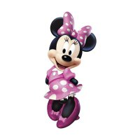 Disney Minnie Bowtique Giant Wall Decal Sticker Dinding