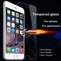 [globalbuy] Tempered Glass for iPhone 4 4S 5 5S 5C SE 6 6S Plus iPod Touch 4 5 6 Screen Pr/5347902