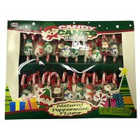 [poledit] Sweet Seasons Holiday Candy Canes and Decorated Jelly Candies Stocking Stuffer H/14703452