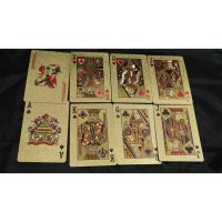 Playing Card Plastic Waterproof Gold Foil - Kartu Remi - 100 USD