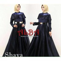Shava Dress By Alba / DRESS PESTA ANGGUN / GAMIS PESTA