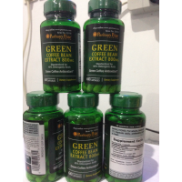 GREEN BEAN COFFEE EXTRACT PURITAN USA IMPOR 800 MG ISI