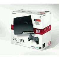 Playstation 3 Slim Sony + Hdd 500gb + 2 Stick warlles + Full Games