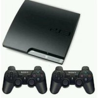 Playstation 3 Slim Sony + Hdd 320gb + 2 Stick Warlles + Free Games