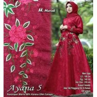 119510 GAMIS PESTA AYANA FLOWER MG (I)