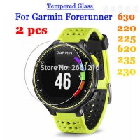 [globalbuy] 2 Pcs For Garmin Forerunner 630 Tempered Glass 9H 2.5D Premium Screen Protecto/5344727