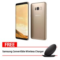 Samsung Galaxy S8 FREE Convertible Wireless Charger - Gold