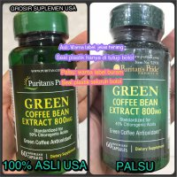 GREEN COFFEE EXITOX 800 MG ISI 60 PURITAN