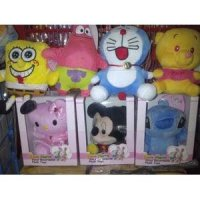Boneka Rekam Suara Recorded Toys Dolls Hello Kity Stitch Miki Minnie Reseller Dropship Grosir Ecer Murah Barang Unik China SJ0104