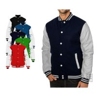 Basic Baseball Varsity Jacket