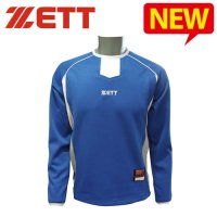 Jets Long Sleeve Tee / Super ZETT pullover [blue] baseball clothing baseball jerseys / DS-ZETTPULL408RB