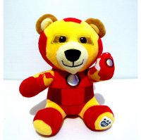 Boneka Teddy Bear Iron Man Original Build A Bear BAB Import Doll