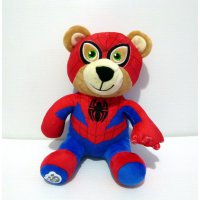Boneka Teddy Bear Spider Man Original Build A Bear BAB Import Doll