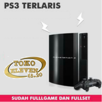 PAKET PS 3 FAT 120 GB FULLSET NGO