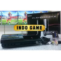 SONY Playstation 3 Fat Hardisk 120Gb +stik wireless