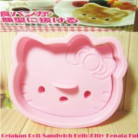 Cetakan Roti Sandwich Hello Kitty Kepala Full