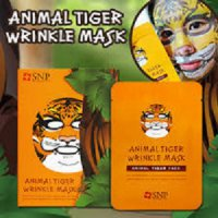 SNP ANIMAL TIGER WRINKLE MASK MASKER WAJAH FACE TOPENG SALON KOREA SJ0026