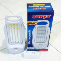 ampu Emergency 60 LED SURYA 2 Sisi Darurat Lamp