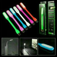 Lampu USB Sikat Emergency Flexible LED Mini Stick Baca Powerbank