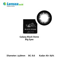 [Luxury Softlens] Omega Galaxy Blackstone Softlens Warna