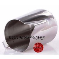 Milk Jug Stainless 350ml, Steamer Pitcher Coffee Latte