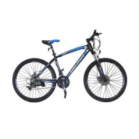 Vivacycle Zenox 660 Alloy Sepeda MTB - Black Dop [26 Inch] 21 Speed