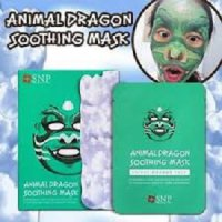 SNP ANIMAL DRAGON SOOTHING MASK MASKER WAJAH FACE TOPENG SALON KOREA SJ0026