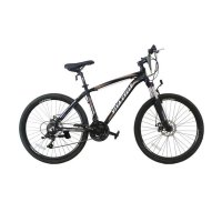 Viva Cycle Exposed 660E Alloy L3111 Shimano Sepeda Gunung MTB - Black [26 Inch] 21 Speed