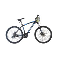 Viva Cycle L3111 Exposed - 660E Alloy MTB Shimano 21sp Sepeda - Black Doft [26 Inch]